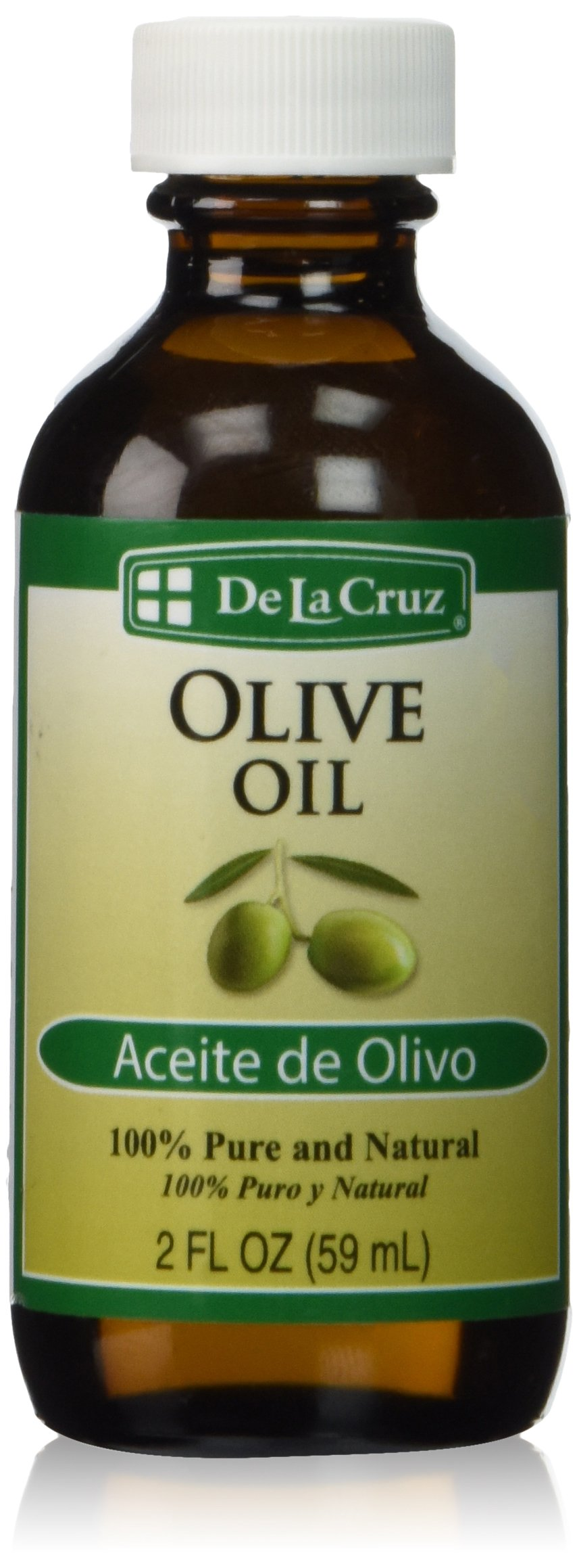 De La Cruz Olive Oil, Natural, 2 Ounce