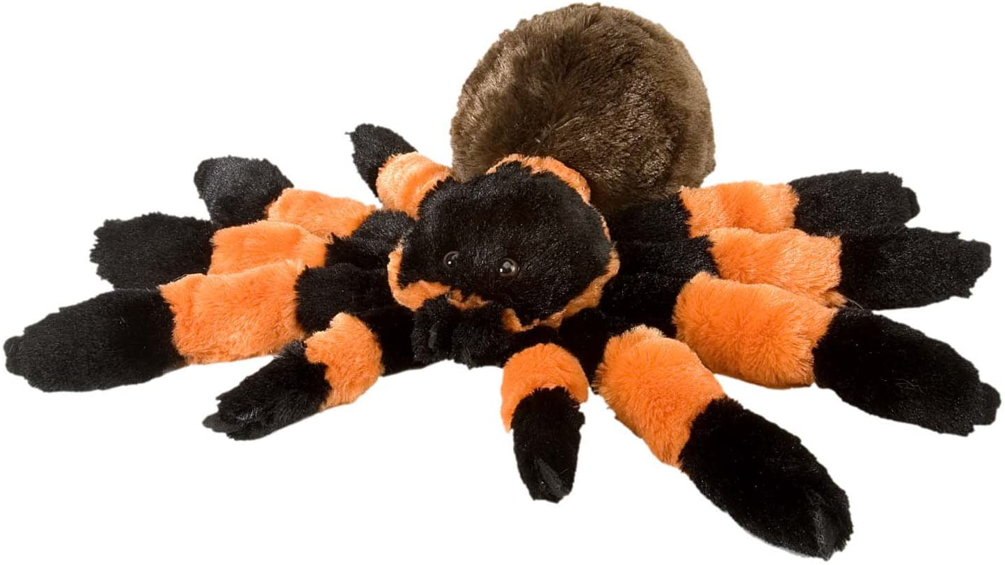 Wild Republic Tarantula Plush, Stuffed Animal, Plush Toy, Gifts for Kids, Cuddlekins 12 Inches
