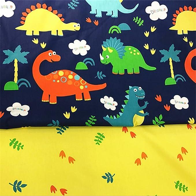 FUYA 160 cm x 100 cm x 2 piezas de tela de algodón con diseño de ...