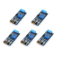 WINGONEER 5Pcs SW-420 NC Type Vibration Sensor Module Vibration Switch For Arduino Smart Car