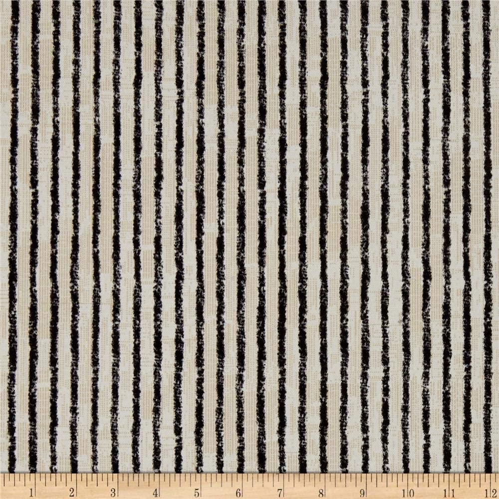 Magnolia Home Fashions Home Outdoor Duval Black Fabric Fabric by the Yard