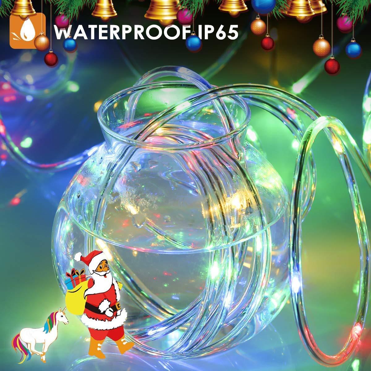 IP65 wasserdicht Separates Rohr, enth/ält keinen Stecker und Fernbedienung Lichterschlauch au/ßen B-right Led Lichtschlauch Lichterkette Lichtschl/äuche Weihnachtsbeleuchtung,Bunt Lichterkette au/ßen