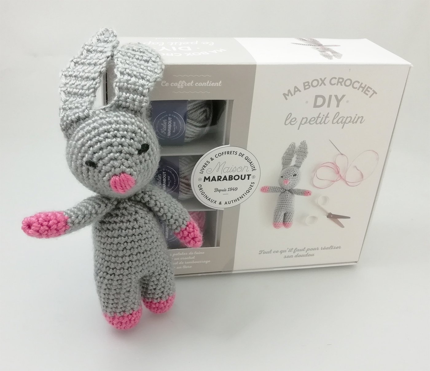 Amigurumi lapin tricot 1/3 / Miss Bunny amigurumi knit (english ...   1208x1400