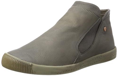 Softinos P900086 - Botas Mocasines de Cuero Mujer, Color, Talla 39: Amazon.es: Zapatos y complementos