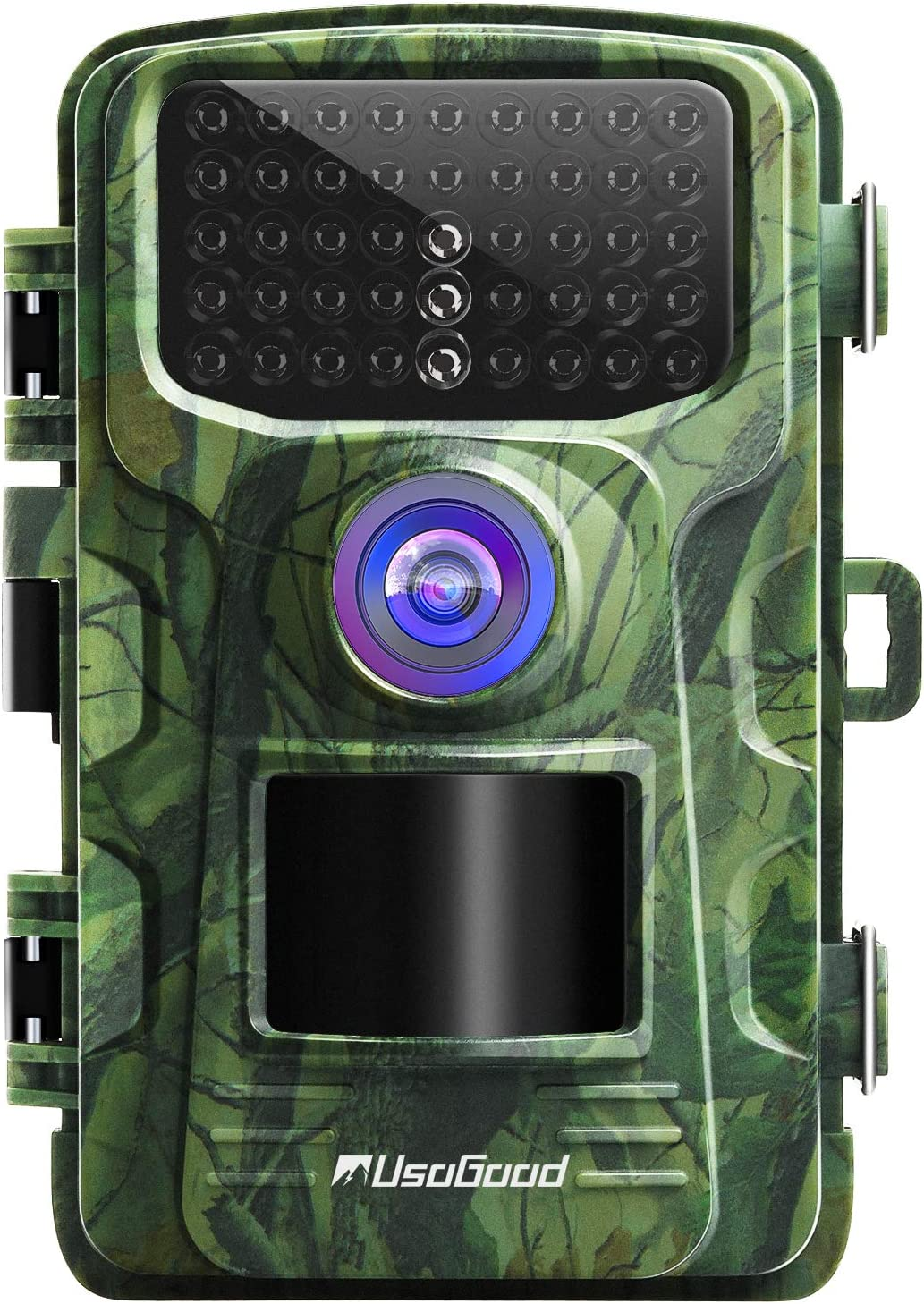 usogood Trail Camera 14MP 1080P No Glow Game Hunting Camera with Night Vision Motion Activated IP66 Waterproof 2.4 LCD for Outdoor Wildlife, Garden, Animal Scouting and Home Security Surveillance