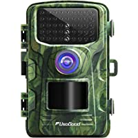 """usogood Trail Camera 14MP 1080P No Glow Game Hunting Camera with Night Vision Motion Activated IP66 Waterproof 2.4"""" LCD for Outdoor Wildlife, Garden, Animal Scouting and Home Security Surveillance"""