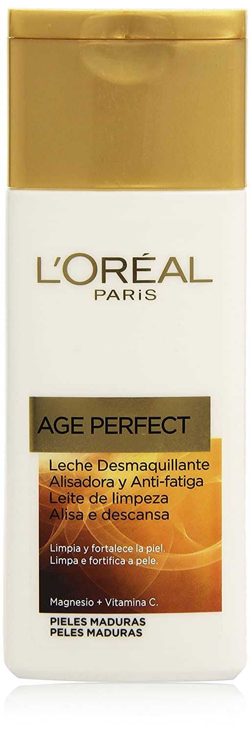 LOreal Paris Dermo Expertise Leche Desmaquillante Age Perfect - 200 ml: Amazon.es: Amazon Pantry