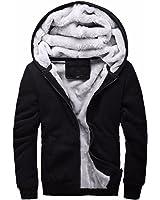 Renee Ander Simple Thicken Hoodies Men Zipper Cardigan Coat Mens Hoodie Sweatshirt Fleece Tracksuit Hoody Streetear