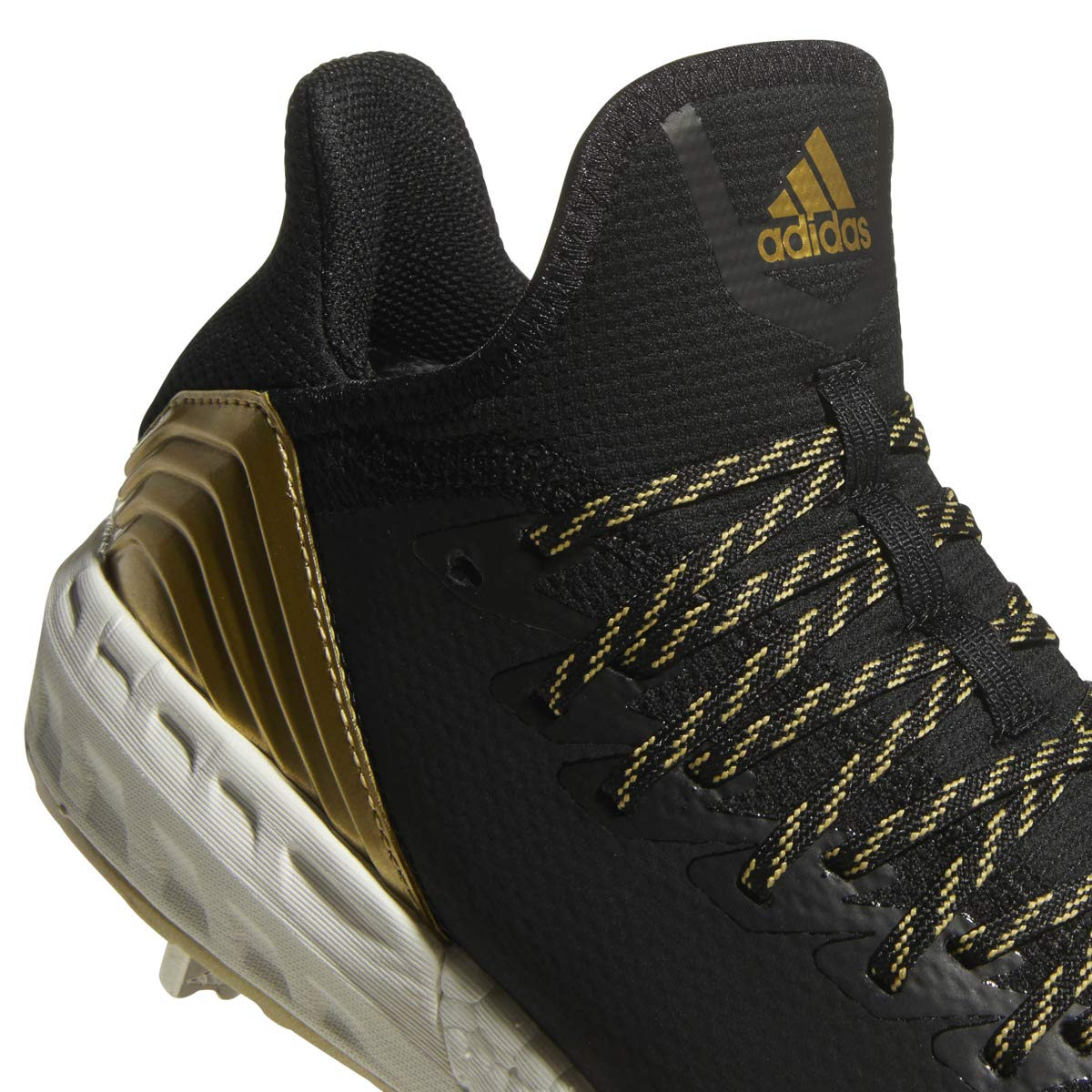 adidas Icon 4 Cleat - Men's Baseball 10 Black/White/Carbon by adidas (Image #4)