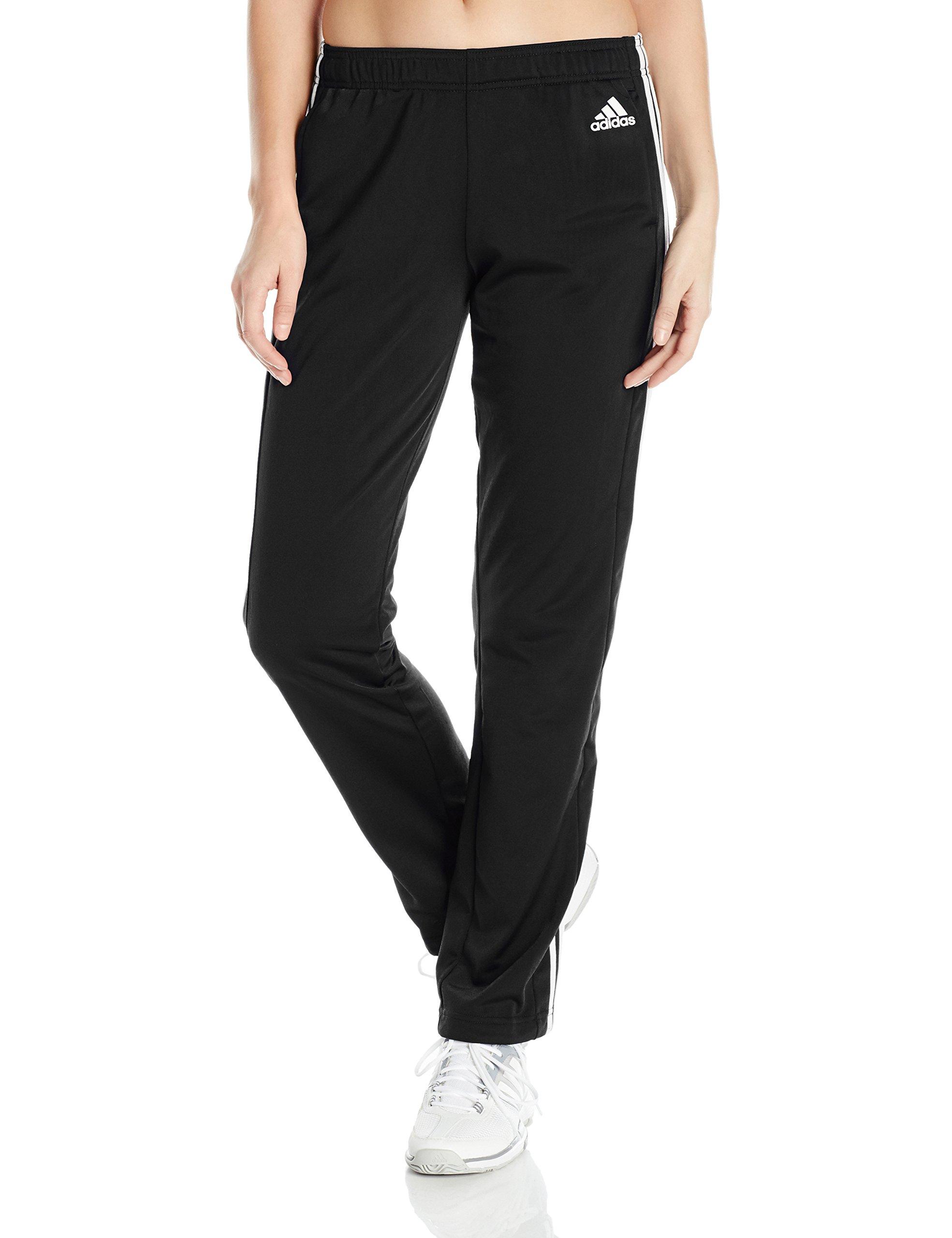 adidas Women's Designed 2 Move Straight Pants, Black/White, XX-Small