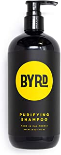 product image for BYRD Purifying Shampoo - Red Algae, Green Tea, Aloe Vera, Sea Kelp, Vitamin B, UV Protection, Mineral Oil Free, Paraben Free, Phthalate Free, Sulfate Free, Cruelty Free, Salty Coconut Scent, 16 Fl Oz