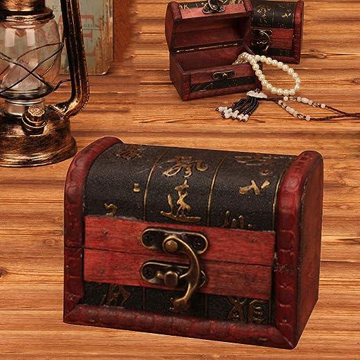 Little Story - Joyero de Almacenamiento, Caja de Madera Vintage ...