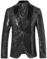 Amazon.com: Rubie's Costume Deluxe Men's Sequin Jacket