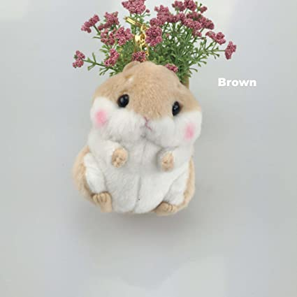 Amazon.com   Osye Stuffed Animals Hamster Car Key Chain Women s ... c4b93910a