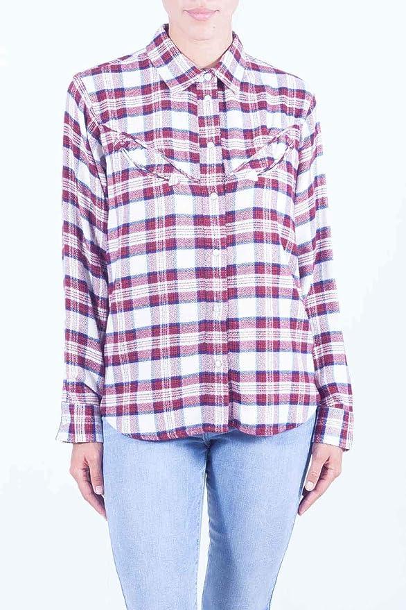 Levis Camisa Levis Western Shirt Mujer: Amazon.es: Ropa y accesorios