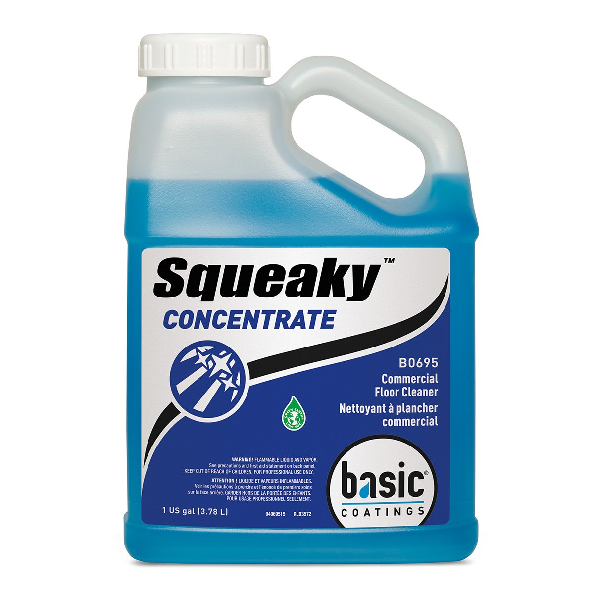 Basic Coatings SQK CONC GAL Squeaky Concentrate Cleaner, 1 gal