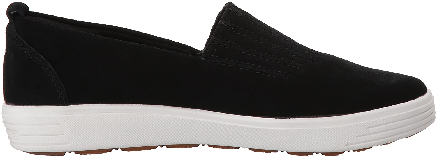 Skechers Women's Comfort Europa-Gored Slip Skech-Air Midsole and Classic Fit Sneaker B079K1SXHH 10 B(M) US|Black