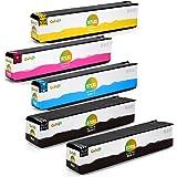 Gohepi 970XL/971XL Compatibile per Cartucce HP 970XL 971XL, 2 Nero/Ciano/Magenta/Giallo 5-Pacco Funzionano con HP Officejet Pro X476dw X551dw X576dw X451dw X451dn X476dn