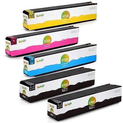 Gohepi Cartuchos de tinta HP 970XL 971XL compatibles con HP ...