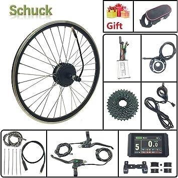 Schuck Kit de conversión de Bicicleta eléctrica 36V250W Motor de ...