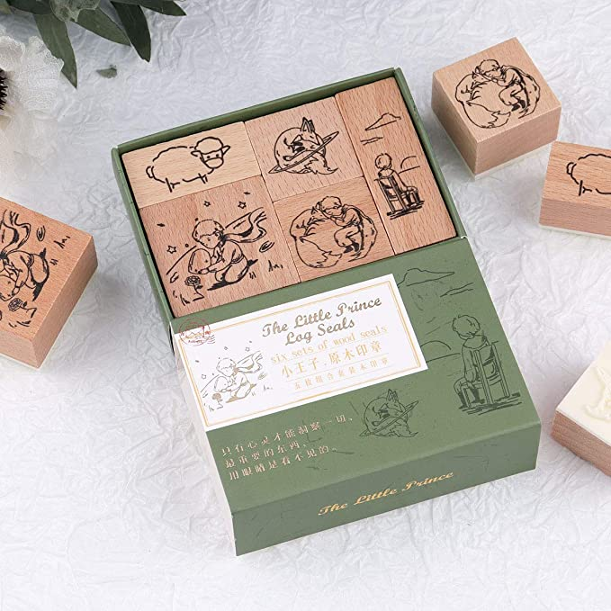 105 Fly Wooden Rubber Stamp No