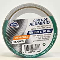 S&M Cinta aluminio blanca 50 mm x 10