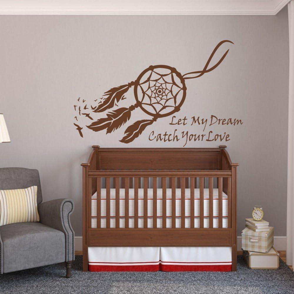 Dreamcatcher Stiker Room Sleep Dreamcatcher Vinyl Decal Nursery Decor Dream Dreamcatcher Decal Made In USA Nursery GF281