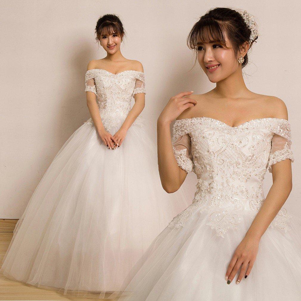 QP Bra Bra BH Hochzeitskleid aus Spitze Slim, UNE, L: Amazon.de ...