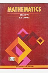 Mathematics for Class 6 by R D Sharma (2019-2020 Session) Paperback