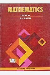 Mathematics for Class 6 (Examination2020-2021) Paperback