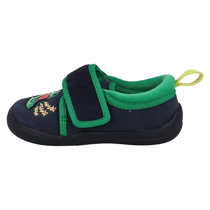 Clarks Cuba Stompo Inf Boy's Slippers in Navy Synthetic 6.5 Navy Synthetic fJFQsXG