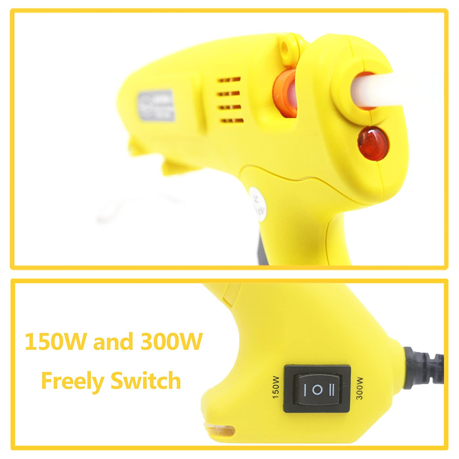 Power Tools Back To Search Resultstools Charitable Electrican 40w-150w Adjustable Diy Hot Melt Glue Gun 11mm Adhesive Stick Heater Craft Metal Wood Working Decoration Tool Diy Factory Direct Selling Price
