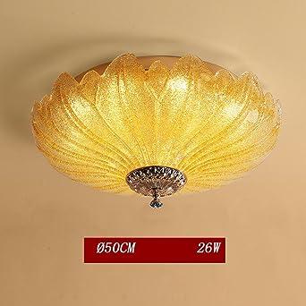 Modern LED Deckenleuchte Deluxe Kristall Lampe Blume Design Galvanisieren  Deckenlampe Glas Lampenschirm Wohnzimmerlampe Leuchte Für Schlafzimmer