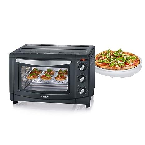 SEVERIN TO 2060 Horno Tostador incluye Rejilla grill y Bandeja de horno, 1.500 W,