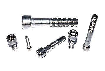 100 Stück Zylinderschrauben DIN 912-A2-70 m.Innensechskant  M 6x100