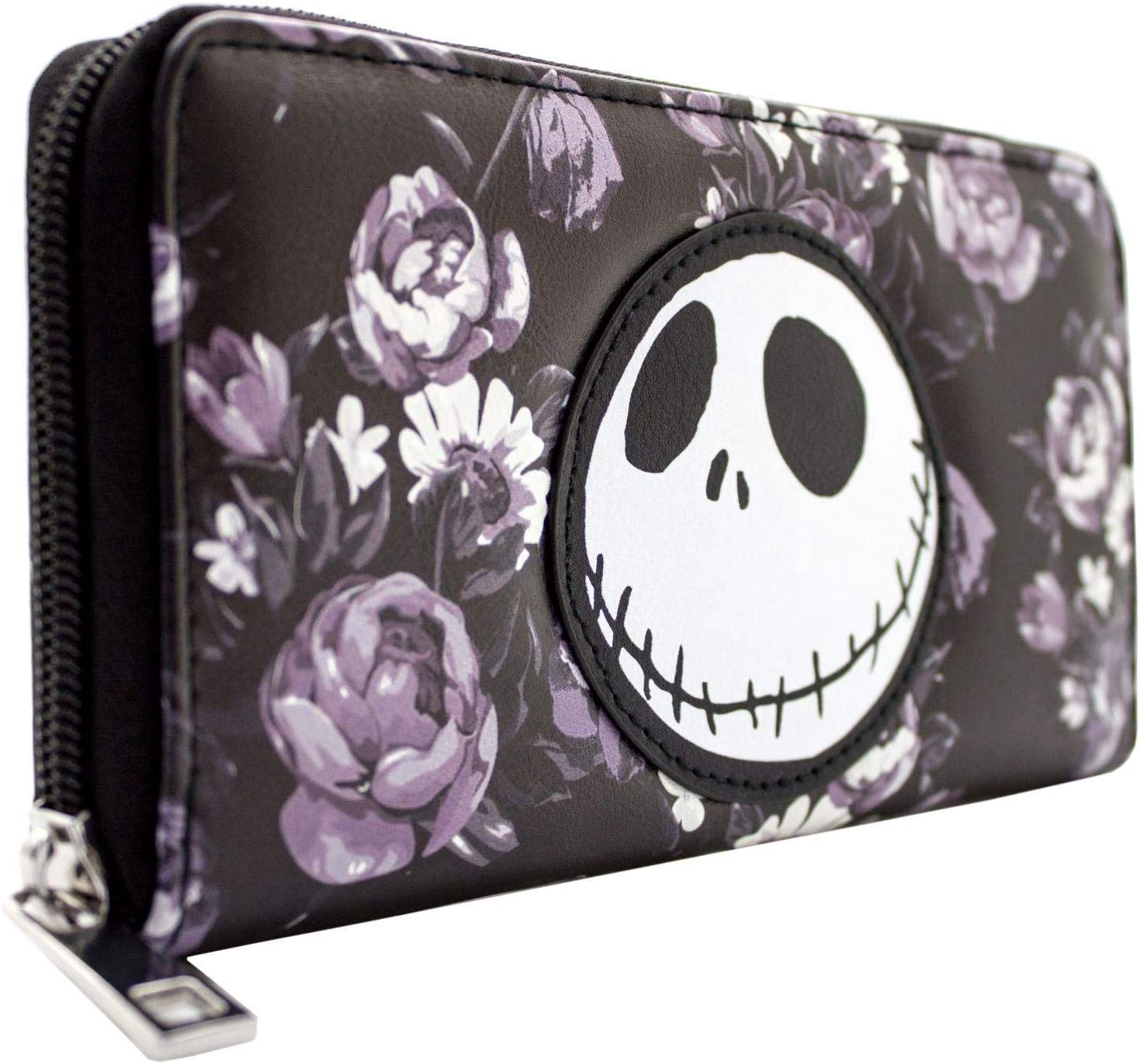 NEW OFFICIAL NIGHTMARE BEFORE CHRISTMAS JACK /& SALLY COIN /& CARD CLUTCH PURSE