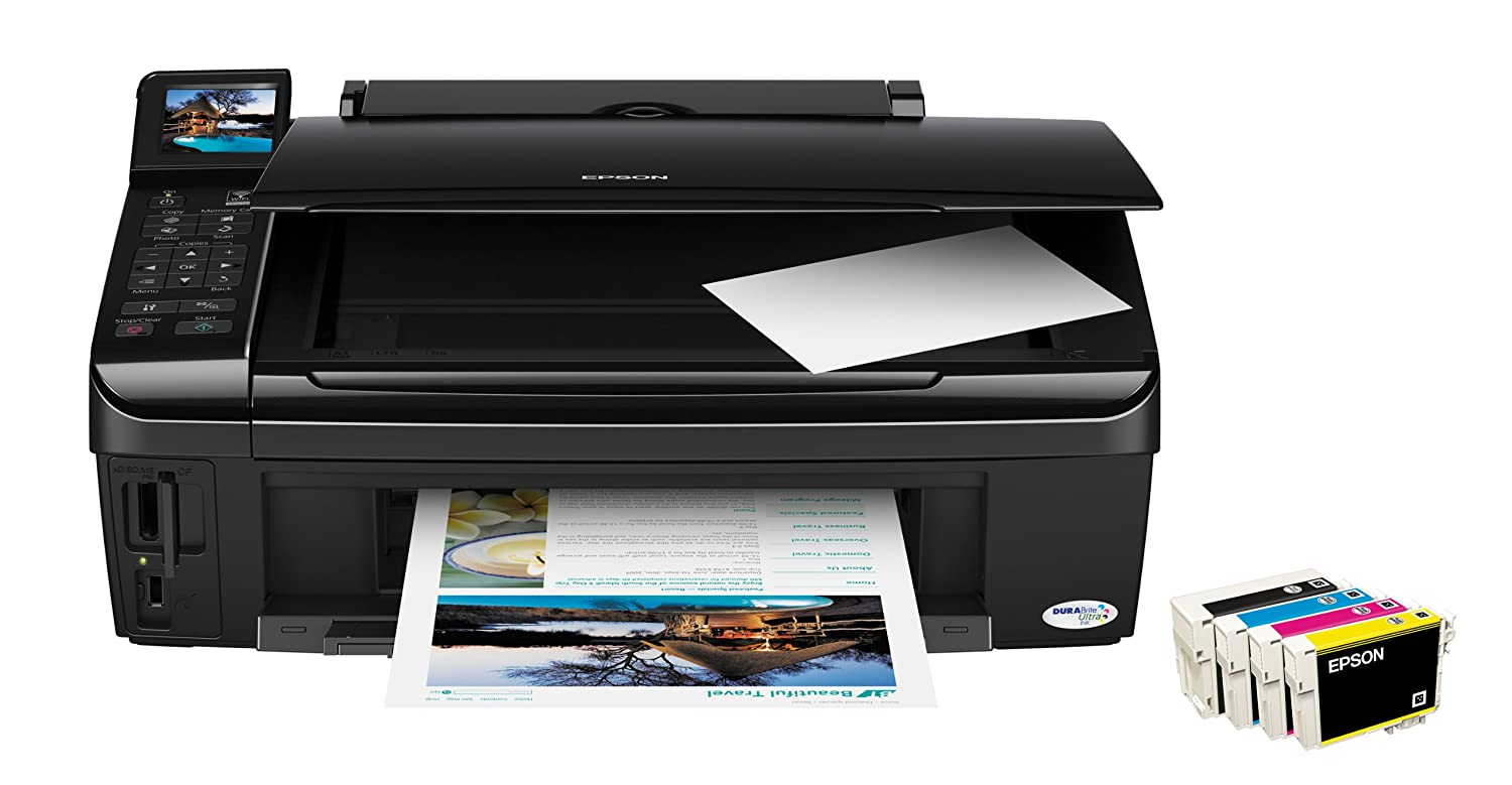 Epson Stylus SX515W High-Speed All-in-One Printer with Individual Inks and  Wi-Fi: Amazon.co.uk: Computers & Accessories
