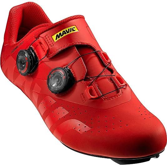 Mavic Cosmic Pro - Zapatillas - Rojo Talla del Calzado UK 12 | EU 47 1/3 2019: Amazon.es: Zapatos y complementos