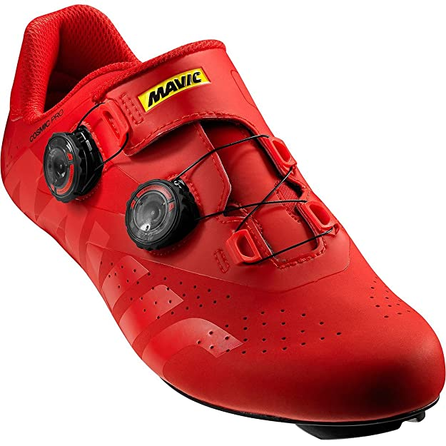 Mavic Cosmic Pro - Zapatillas - Rojo Talla del Calzado UK 9,5 | EU 44 2019: Amazon.es: Zapatos y complementos