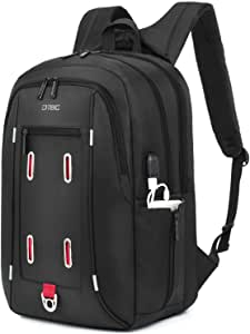 """BeeShop(TM) 17.3"""" Laptop Backpack with USB Charging Port Durable Travel Business Backpack"""