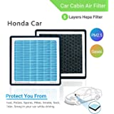 Anti-Pollution Car Cabin Air Filter of PM2.5, HEPA & Activated Carbon For Honda Car (Jazz)