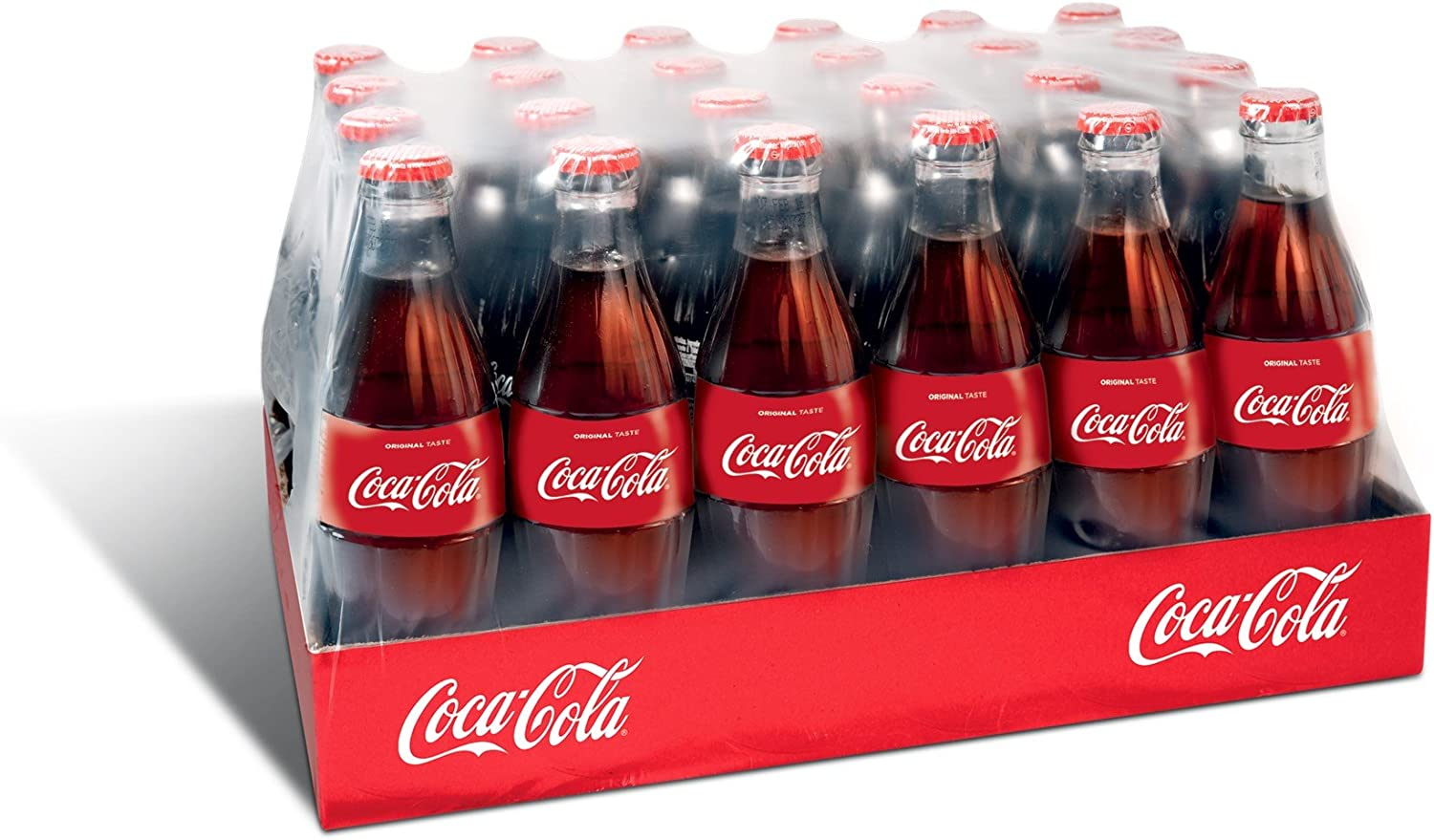 Botella Coca Cola de vidrio - 24 x 330 ml
