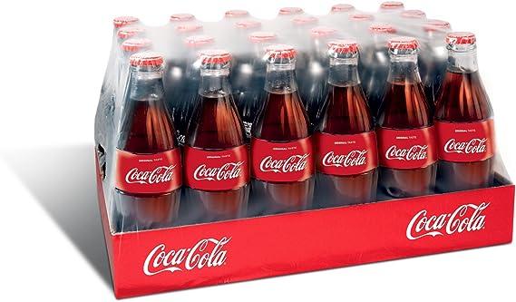 Botella Coca Cola de vidrio - 24 x 330 ml: Amazon.es: Alimentación ...