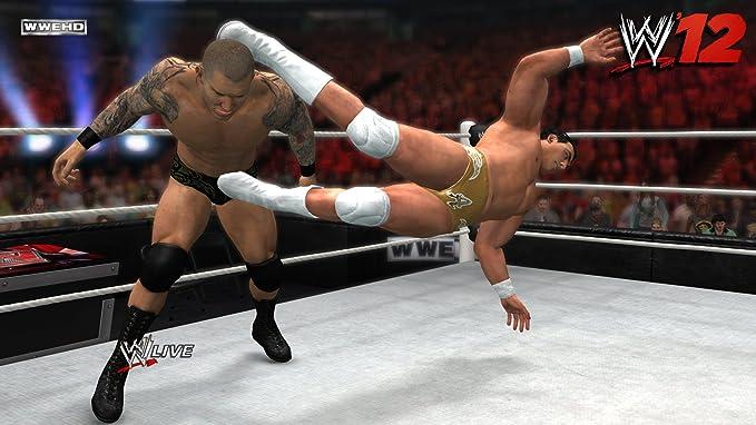THQ WWE Smackdown vs Raw 2012, Wii - Juego (Wii, Nintendo Wii, Lucha, M (Maduro)): Amazon.es: Videojuegos