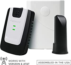 weBoost Basic Home (471101) Cell Phone Signal Booster Kit | Up to 1,500 sq. ft. | Rooms or Apartments | Verizon and AT&T | Amazon Exclusive
