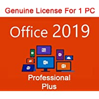 Office 2019 Professional Plus 1PC - Product Key - Lifetime Activation within 24Hrs Delivery