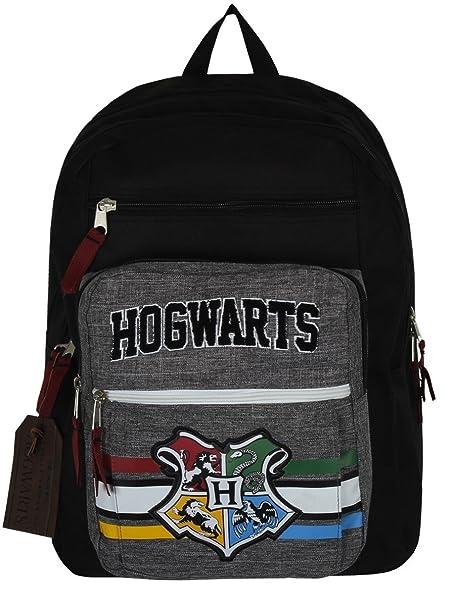 Harry Potter Mochila Hogwarts House Crest Collegiate School Bag nuevo: Amazon.es: Ropa y accesorios
