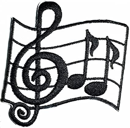 Amazon Com Musical Notes G Clef Music Note Symbol Diy Iron