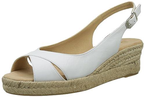 Unisa CAMPI_17_ST, Alpargatas para Mujer, Blanco (White), 39 EU: Amazon.es: Zapatos y complementos