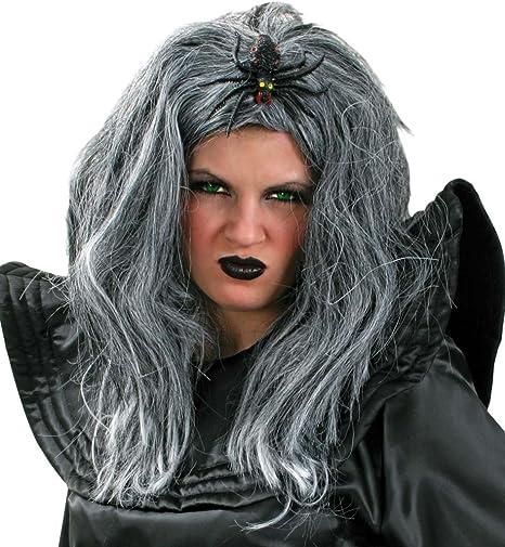 Peluca de bruja araña de bruja